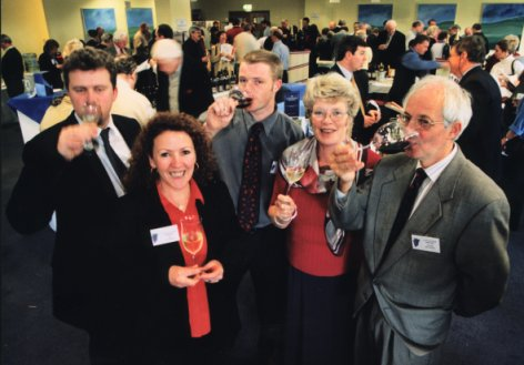 The Castang Wines Team at the Wine Fair